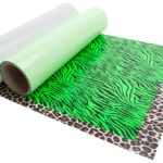 Neon Green Zebra Wild Fashion Prints, Leopard Wild Fashion Prints