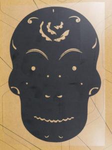 ThermoFlex Plus, heat transfer vinyl, DIY, sugar skull
