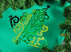 Christmas tree, svg cut file, textile foil, hotmelt